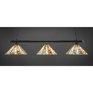 Alviso 3-Light Billiard Pendant by Red Barrel Studio