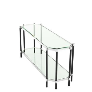 Florence Glass Top Console Table