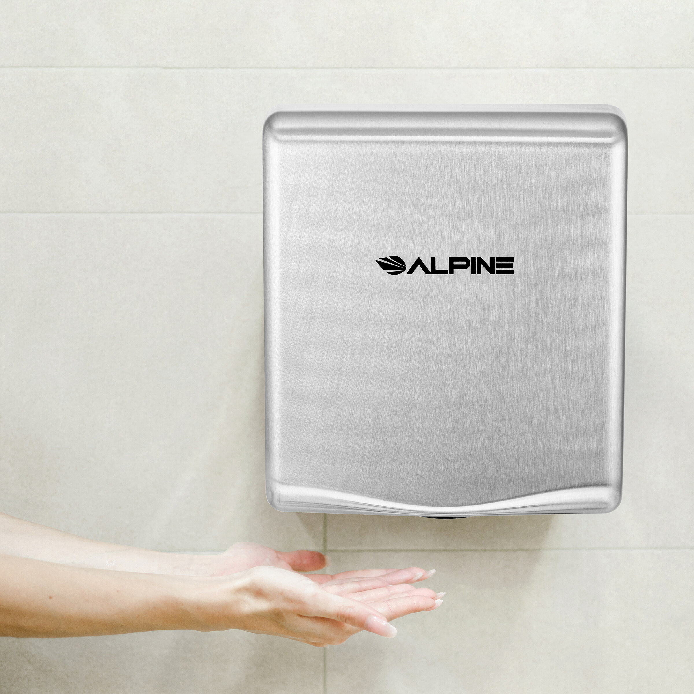 Alpine Industries Willow Automatic 120 Volt Hand Dryer In Stainless Steel Reviews Wayfair