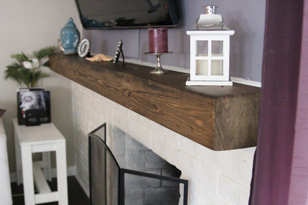 midwood designs rustic fireplace shelf mantel u0026 reviews wayfair