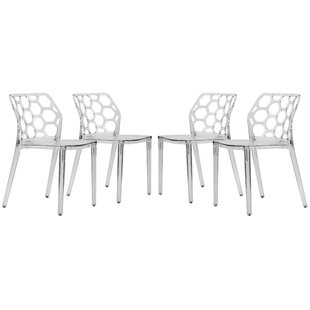 Dynamic Side Chair (Set of 4) by LeisureMod