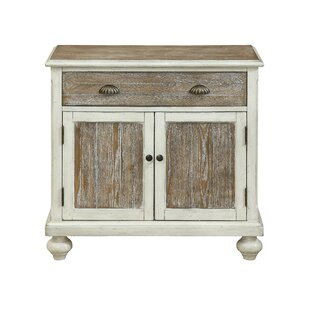 Funchess 2 Door 1 Drawer Accent Cabinet by Highland Dunes