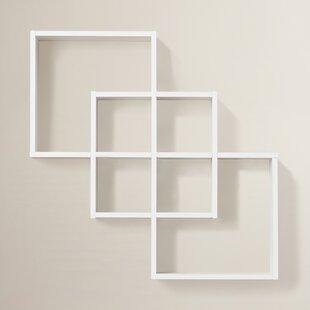 Odum 3 Intersecting Decorative Accent Shelf