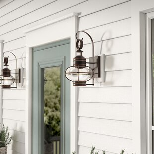 Phillip 1-Light Outdoor Wall Lantern