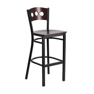 Maurice 29.75'' Bar Stool by Winston Porter