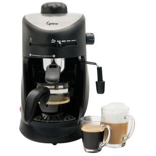 4 Cup Espresso & Cappuccino Machine