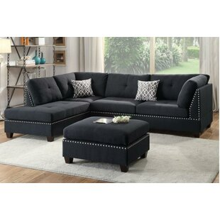 Tammy Reversible Sectional with ottoman