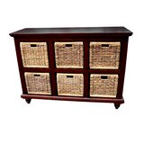 6 Drawer Double Dresser by D-Art Collection