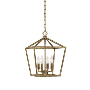 Three Posts Varnum 4-Light Foyer Pendant