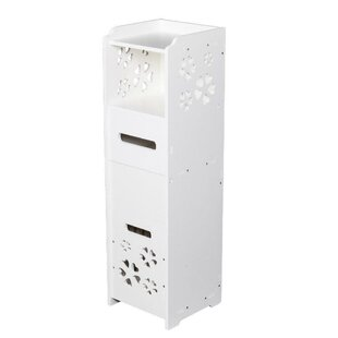 Bronte 913 W x 315 H Linen Tower with Garbage Can