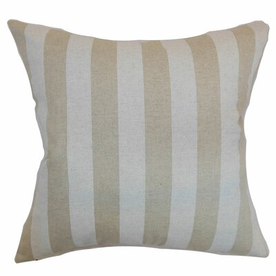 Birch Lane™ Heritage Knotts Indoor/Outdoor 100% Cotton Throw Pillow Color: Cloud, Size: 20 H x 20 W