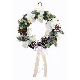 12' Orchid Wreath By The Seasonal Aisle