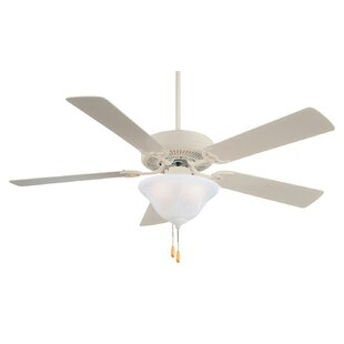 Shopping for 52 Contractor 5-Blade Ceiling Fan By Minka Aire