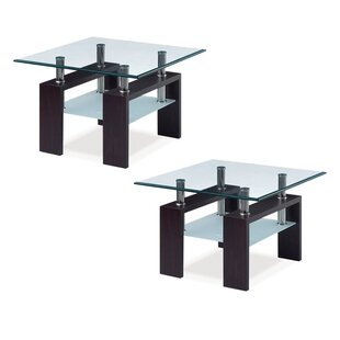 Brittaney 2 Piece Coffee Table Sets (Set of 2) by Ebern Designs