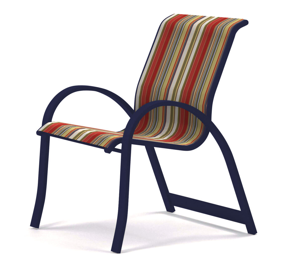 Chrome Metal Patio Dining Chairs You Ll Love In 2021 Wayfair