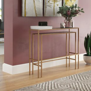 Kushner 2 Piece Console Table Set by Wrought Studio