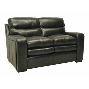 Wildon Home ? Leather Loveseat