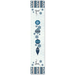 Simply Winter Table Runner