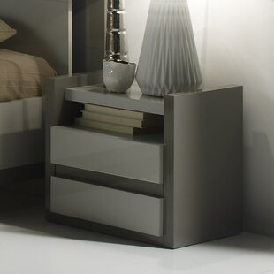 1 Drawer Bedside Table By Ebern Designs