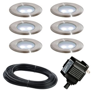 9-Piece Deck Light Set (Set of 6)