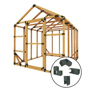 8 Ft. W X 10 Ft. D Storage Shed