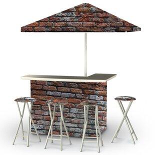 Best of Times London Brick 8 Piece Bar Set