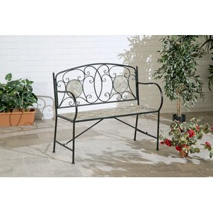Armine Metal Bench By Rosalind Wheeler