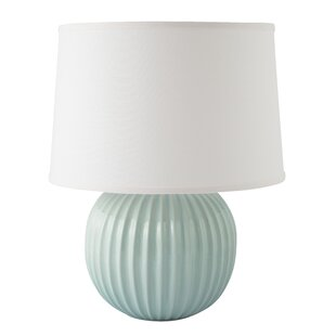 Best Price Erichsen Fluted Round 21 Table Lamp By Highland Dunes