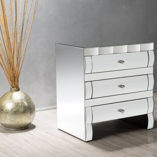 Hendrick 3 Drawer Accent Chest by House of Hampton