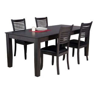 Avangeline 5 Piece Dining Set by Gracie O..