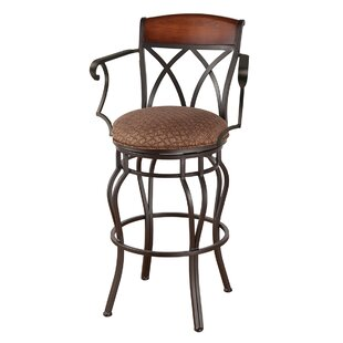 Hughey 26 Swivel Bar Stool by Red Barrel Studio 2019 Sale