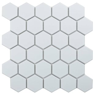 Value Series Hexagon 2 inch  x 2 inch  Porcelain Mosaic Tile