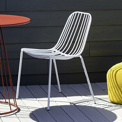 M A D Furniture Resonate Stacking Patio Dining Chair Reviews