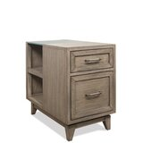 Northampton Bangor End Table with Storage by Three Posts
