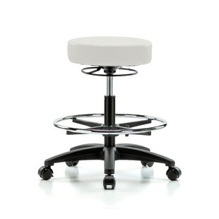 Height Adjustable Stool With Foot Ring by Perch Chairs & Stools New