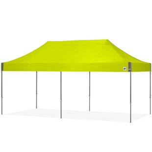Eclipse 10 Ft. W x 20 Ft. D Steel Pop-Up Party Tent by E-Z UP