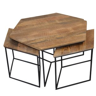Antora Occasional 4 Piece Coffee Table Set Foundry Select Reviews