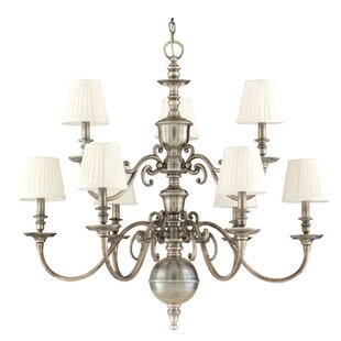 Astoria Grand Philbrook 9-Light Shaded Chandelier