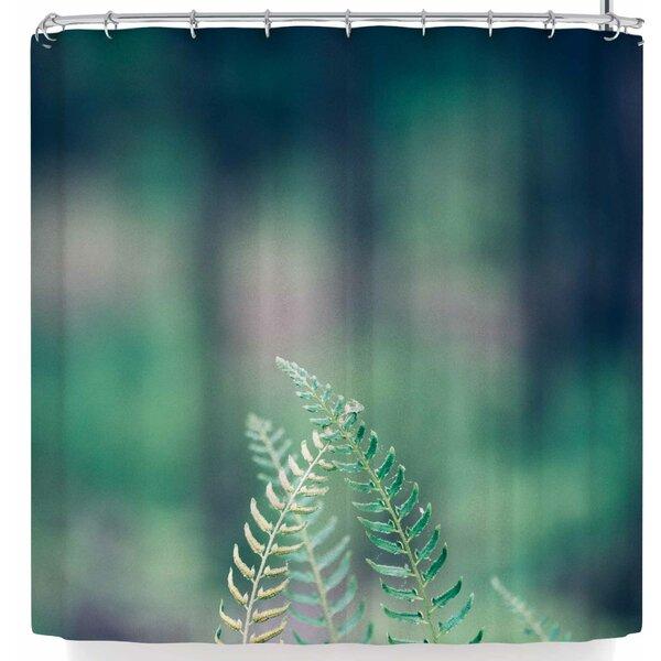 East Urban Home Ann Barnes Forest Ferns Shower Curtain & Reviews ...