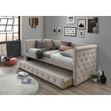 Reasor Twin Daybed with Trundle by Charlton Home®