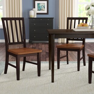 Krueger Solid Wood Dining Chair (Set of 2..