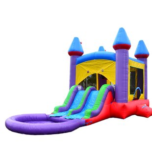 Jelly Bean Dual Slides Bounce House By HeroKiddo