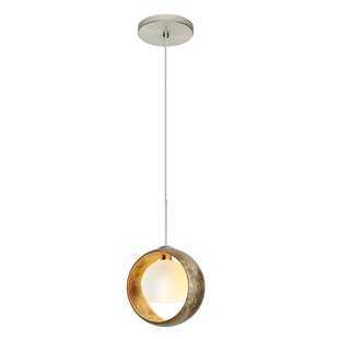 Brayden Studio Speidel Halogen 1-Light Geometric Pendant