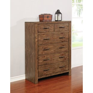 Pasha 6 Drawer Double Dresser