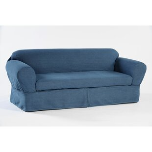 Buy luxury Skirted Box Cushion Sofa Slipcover by Classic Slipcovers Reviews (2019) & Buyer's Guide