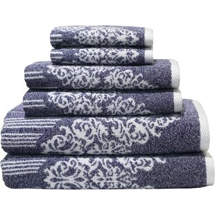 Gioia 6 Piece Turkish Cotton Towel Set