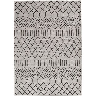 Revels Ciara Gray Indoor/Outdoor Area Rug