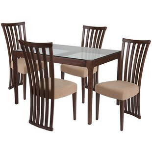 Skalski 5 Piece Dining Set by Winston Por..