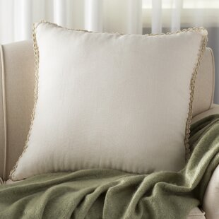 Guerrette Linen Throw Pillow