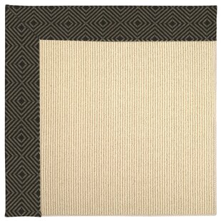 Lisle Machine Tufted Magma/Brown Indoor/Outdoor Area Rug ByLongshore Tides